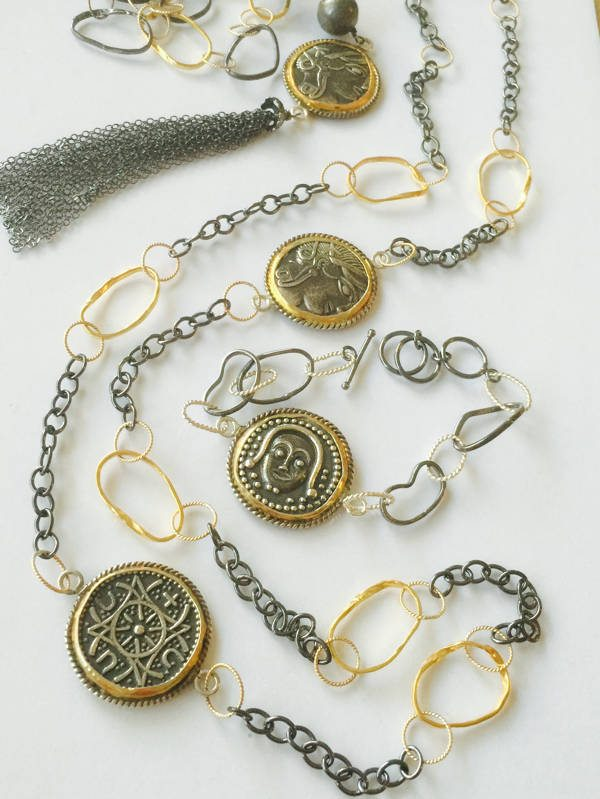 Coin Jewelry Collection from Stems and Gems