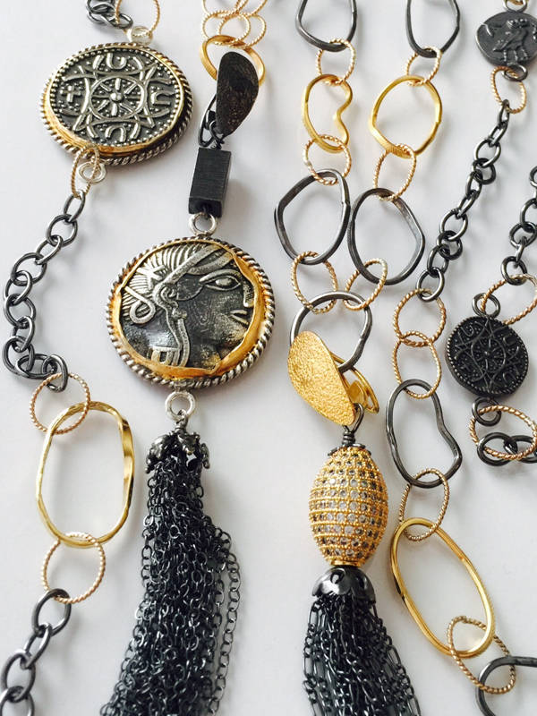 Coin Tassel Collection from Stems and Gems