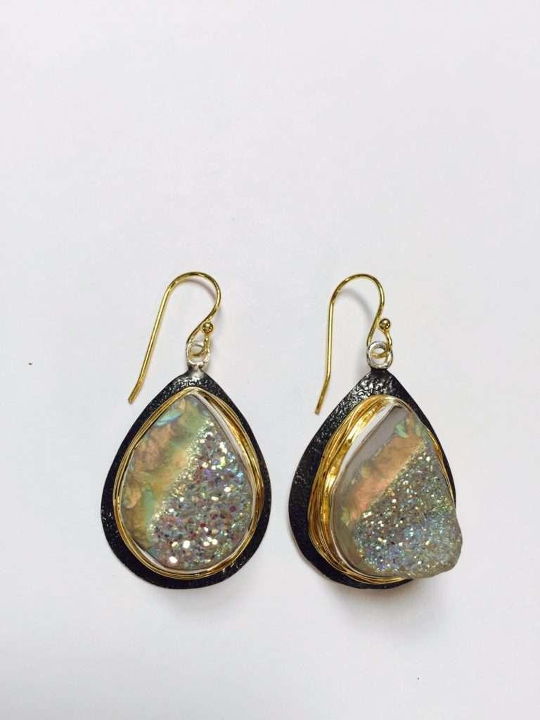 Earrings by Marlena Winiarska
