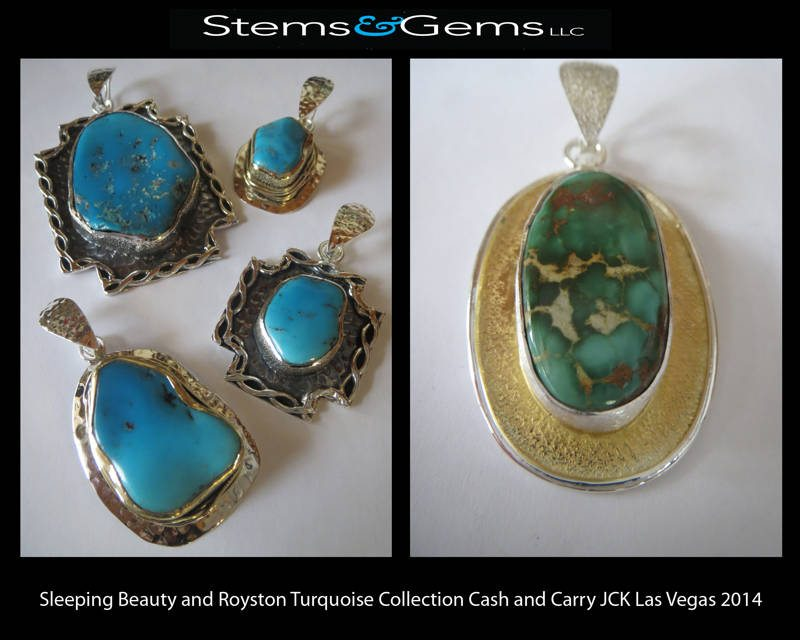 Sleeping Beauty and Royston Turquoise Collection