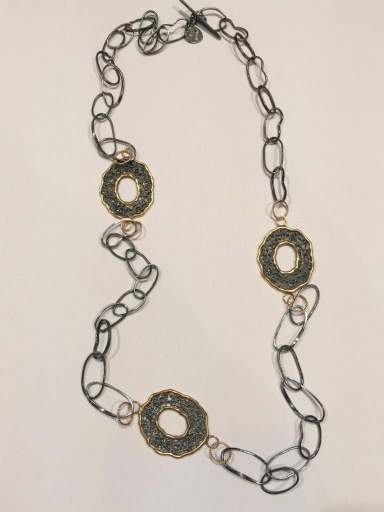 Sterling Silver Necklace from Stems and Gems