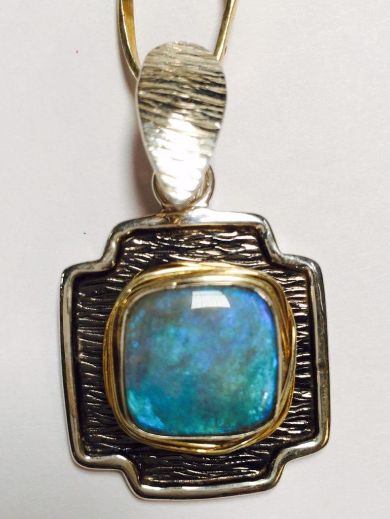 Turquoise Necklace from Stems and Gems, LLC
