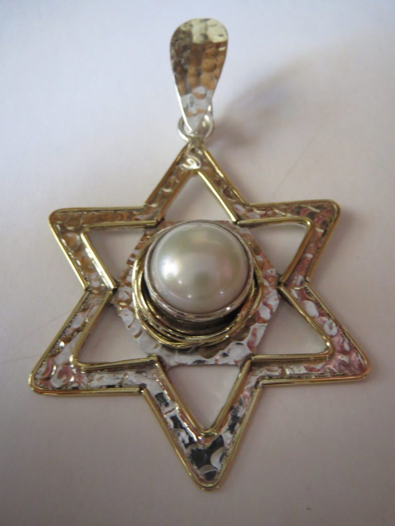 Pearl Pendant from Stems and Gems