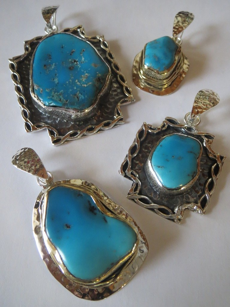 Turquoise Jewelry from Marlena Winiarska of Stems and Gems