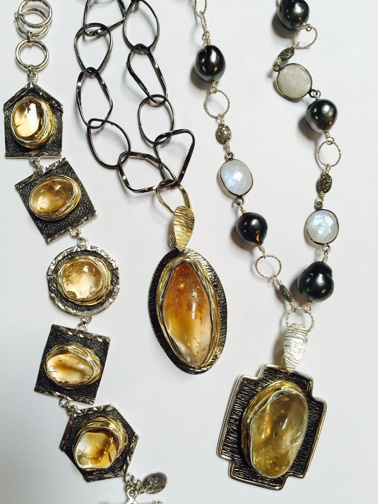 Citrine Collection from Stems and Gems Designer Marlena Winiarska