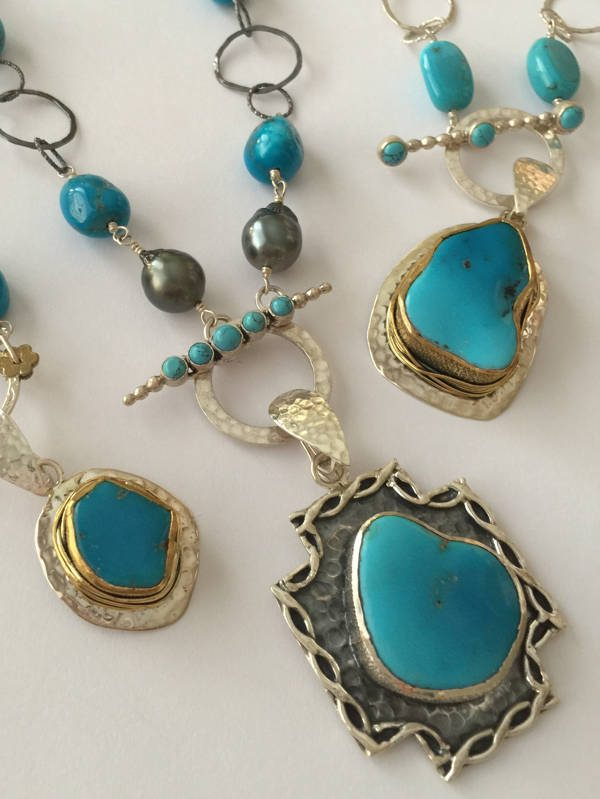 Sleeping Beauty Turquoise Collection Stems and Gems