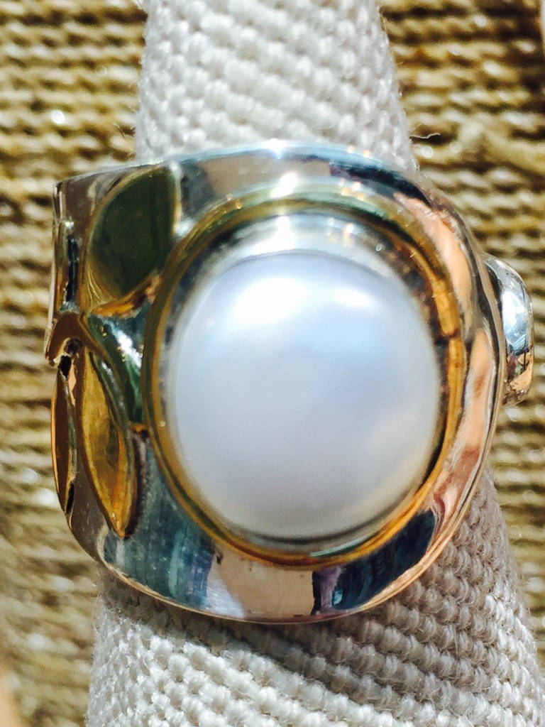 Pearl Ring Front