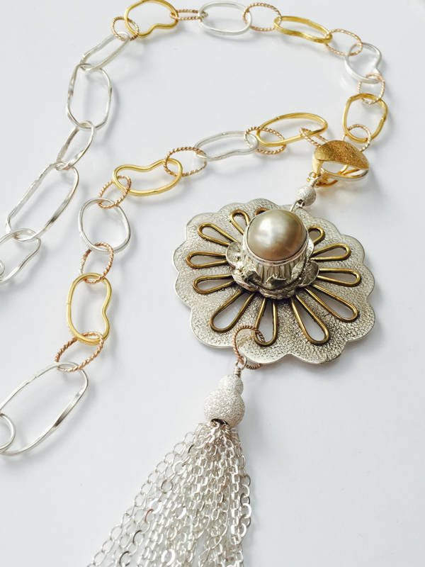 South Sea Pearl Necklace from Stems and Gems
