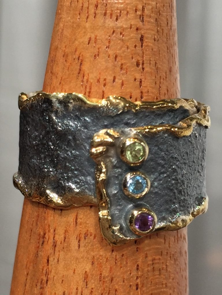 Ring from Stems and Gems