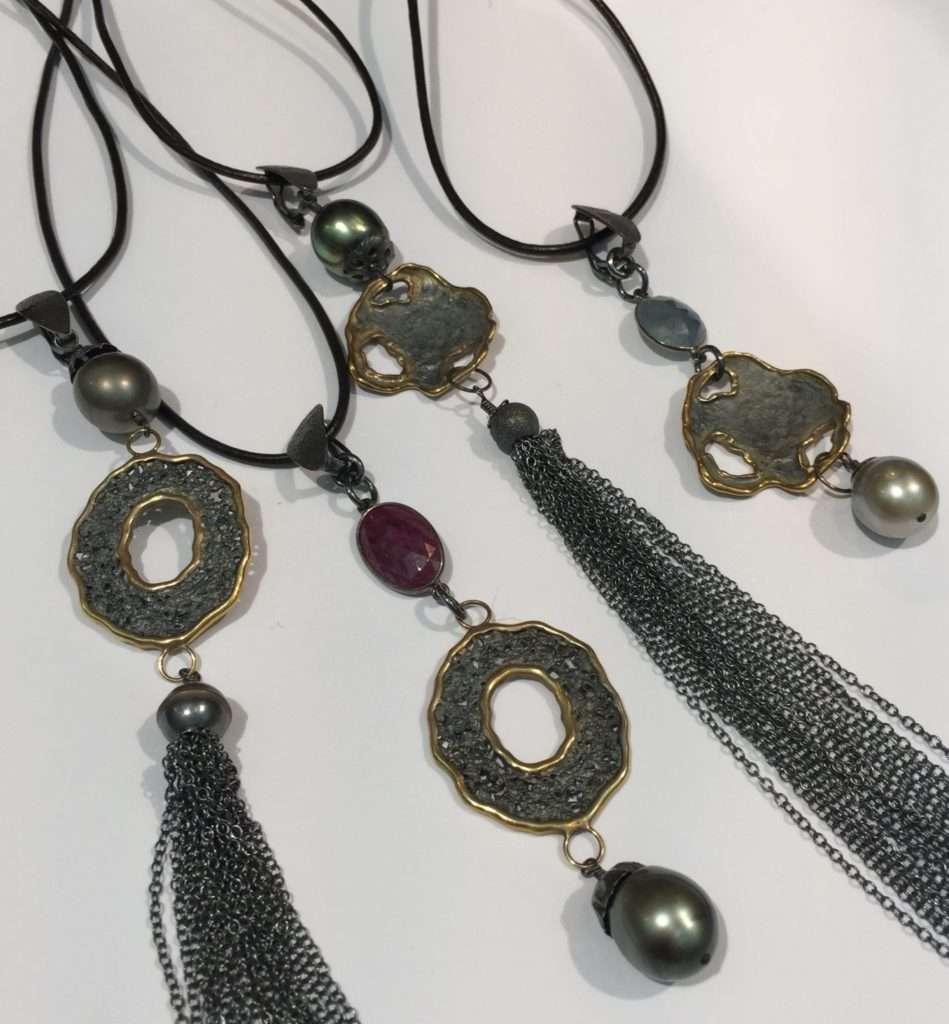 Black Tahitian Pearl Enhancers