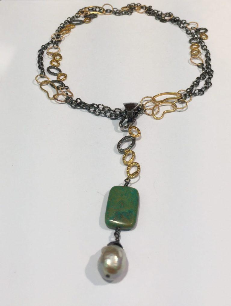 Turquoise Enhancer Necklace